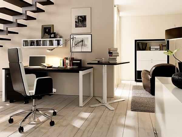 letisztult otthoni iroda