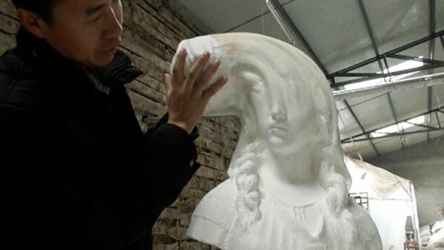 Paper sculpture Li Hongbo