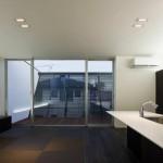 Modern és fekete ház Japánból!