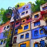 Az organikus formák szerelmese - Friedensreich Hundertwasser