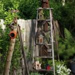 Csodálatos madárházak kertünk csicsergő vendégeinek!