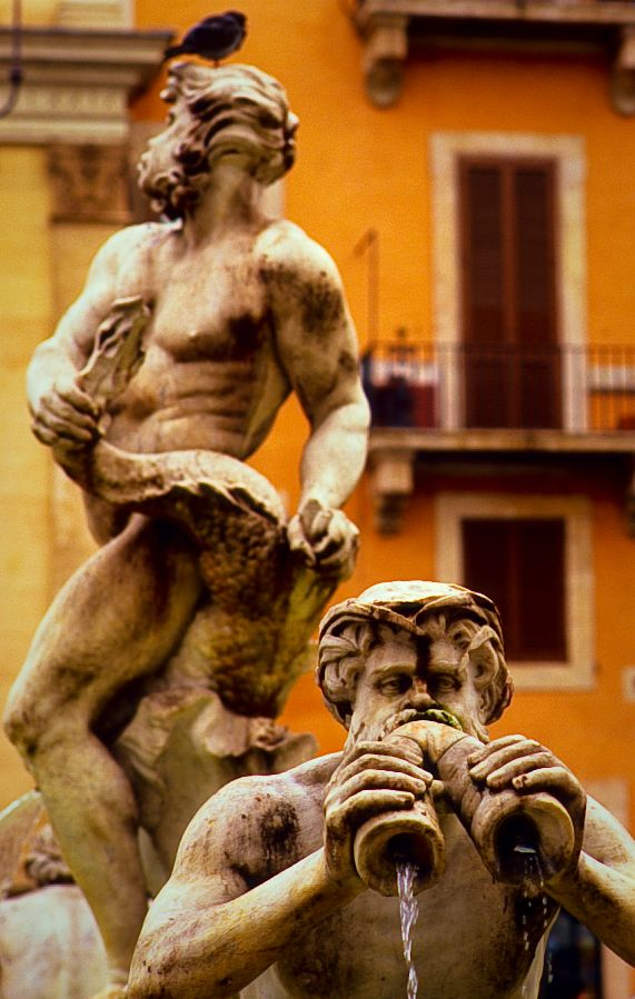 piazza navona fountain of the moor