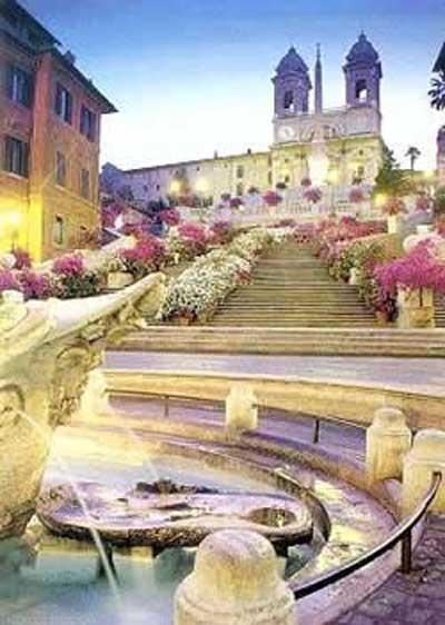 scalinata, Piazza di spagna roma
