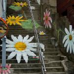 Elképesztő street art lépcsősorok a világ minden tájáról!