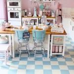 Időutazás a konyhában! - Retro berendezések az 50- es évek stílusában!