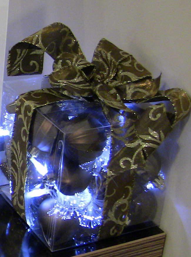 világító doboz