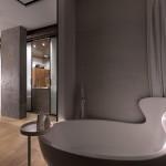 Indusztriál stílus és dizájn fürdőszoba