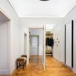 Art Deco lakás előszoba