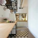 Art Deco lakás konyha