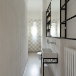 Art Deco lakás mosdó - wc