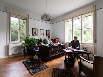Art Deco lakás nappali
