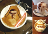 Star Wars Cappuccino Latte
