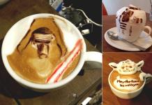Star Wars Cappuccino Latte