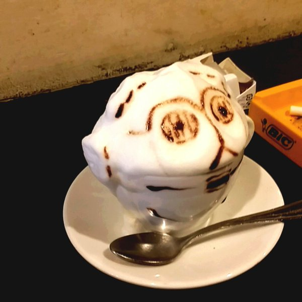 Star Wars Cappuccino