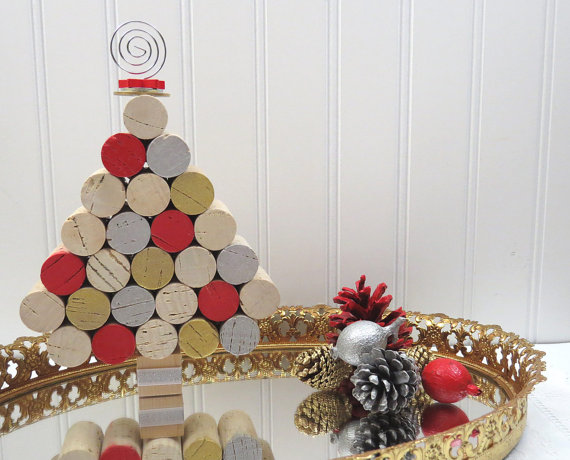 Gombolyag karácsonyi dekoráció és fa