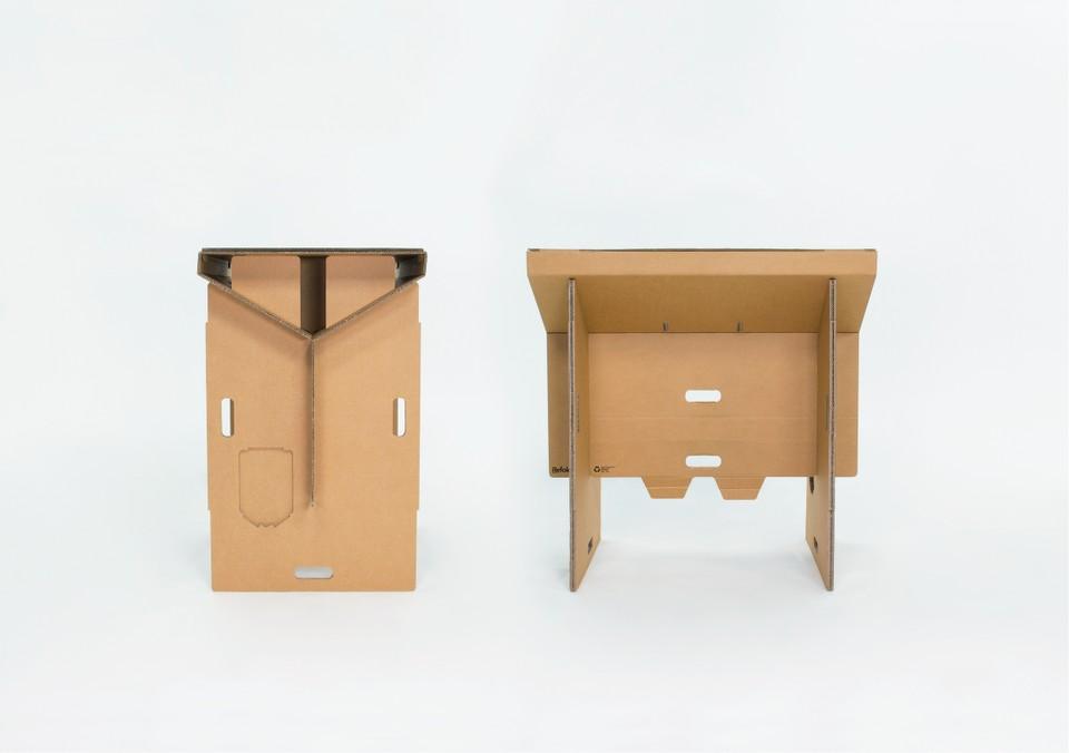 hordozható asztal papír