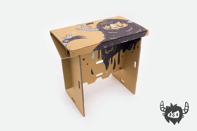 hordozható íróasztal - asztal