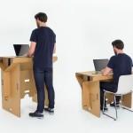 Hordozható asztal papírból - megvásárolható