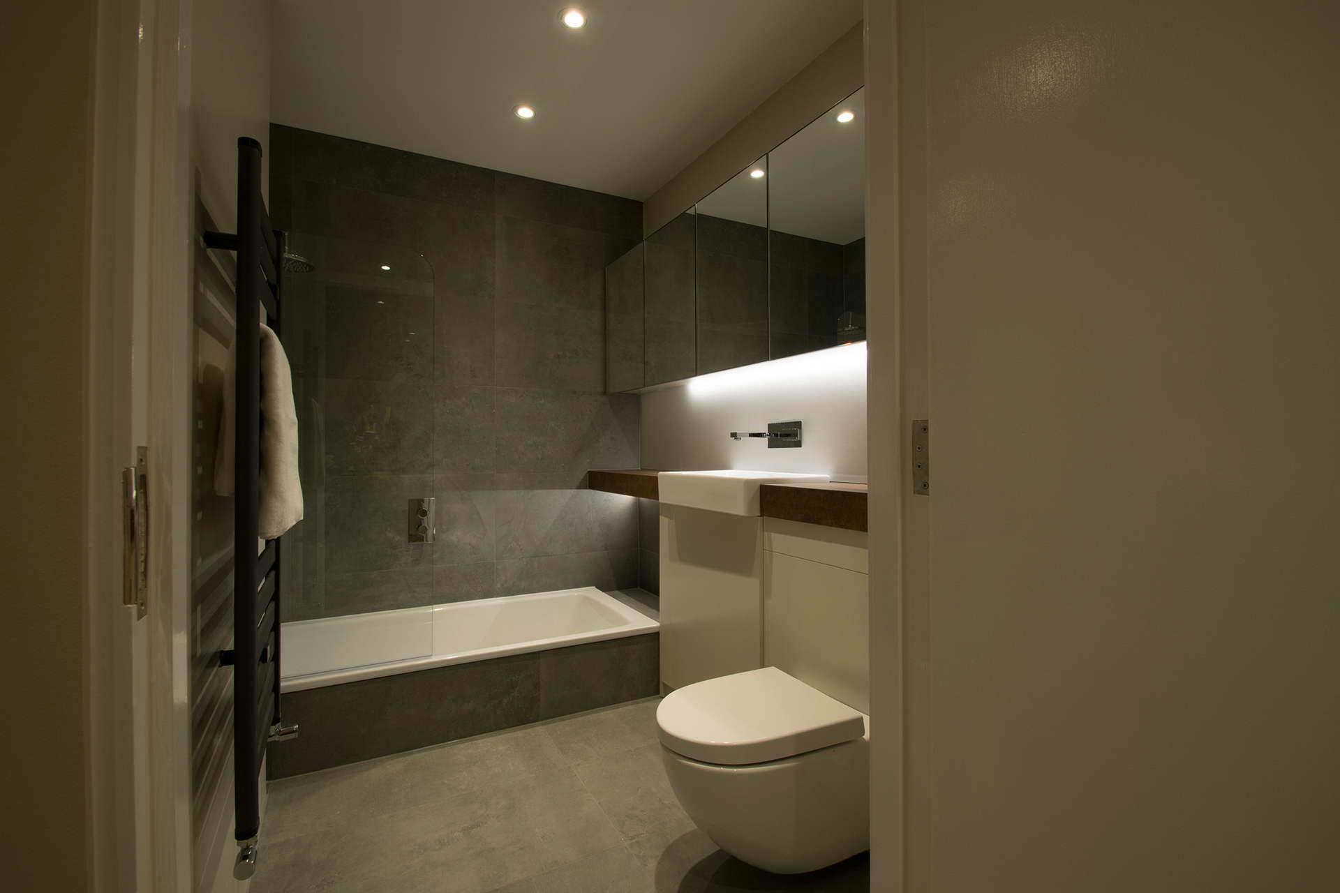 Kis lakás fürdőszoba