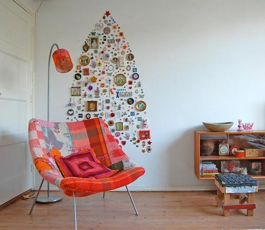 kreatív karácsonyi díszítés
