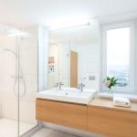 Loft lakás fürdőszoba