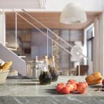 családi lakás több stílusban - étkező