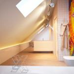 családi lakás több stílusban - családi, gyerek fürdőszoba