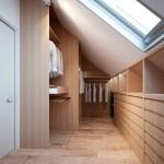 családi lakás több stílusban - gardrób