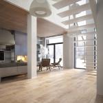 családi lakás több stílusban - nappali
