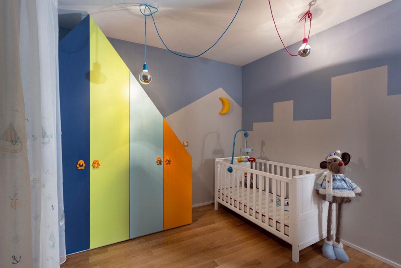 Kis lakás - Nagy lakás gyerekszoba