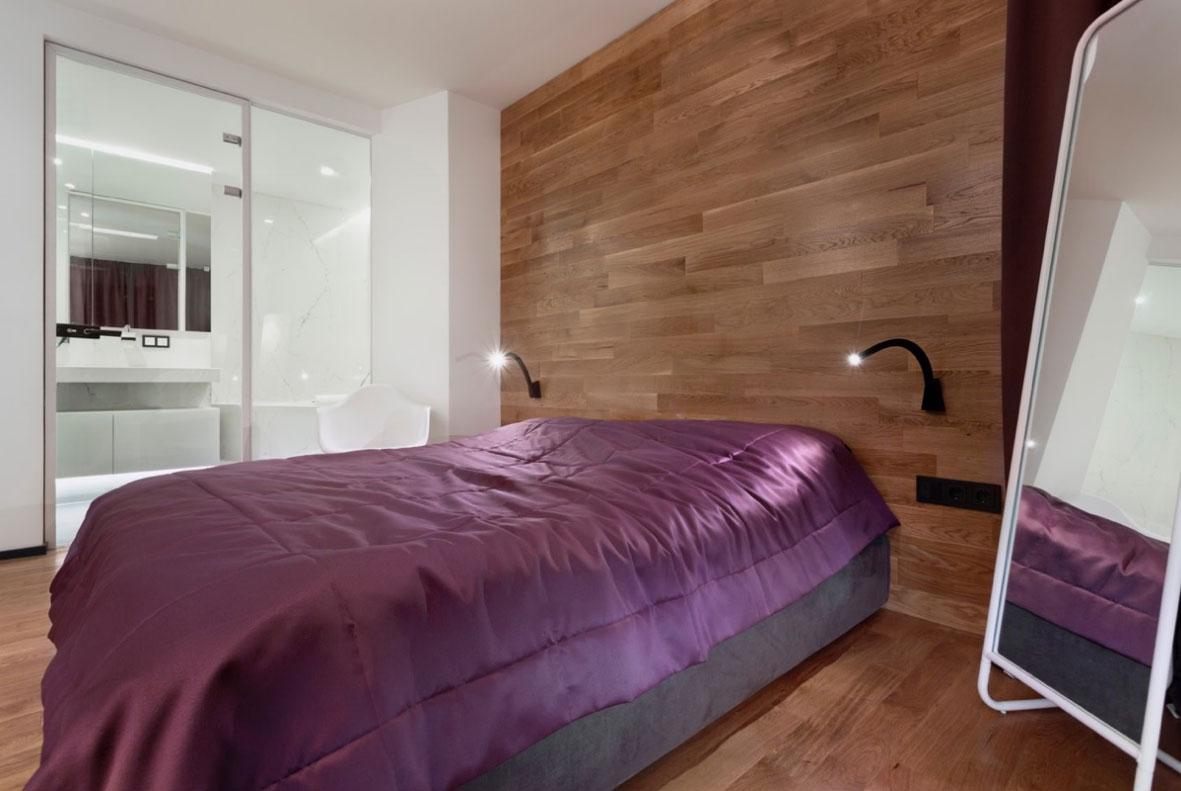 Kis lakás - Nagy lakás hálószoba