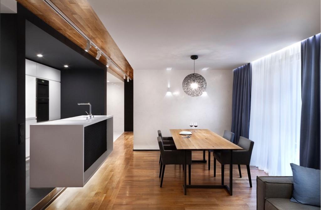 Két kis lakás átalakítása, eredmény egy nagy lakás 100 nm-en - Otthon