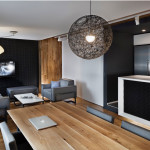 Kis lakás - Nagy lakás nappali étkező