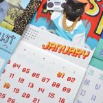 macska naptár