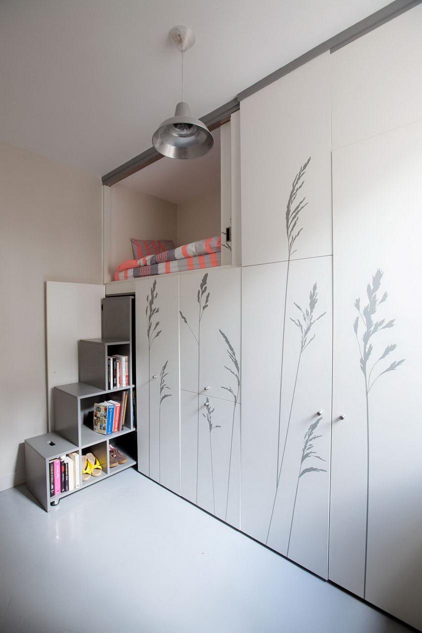 mini sútdió lakás hálószoba 2