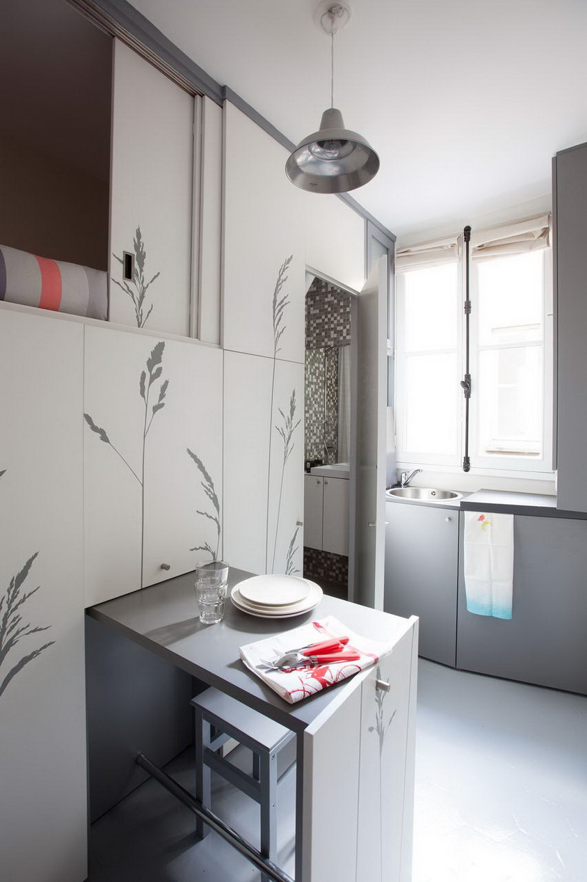 mini stúdió apartman konyha