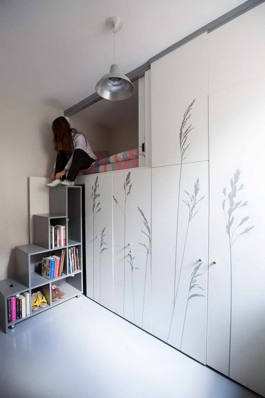 mini stúdió apartmann háló