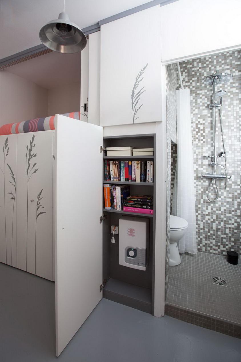 mini stúdió lakás