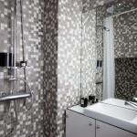 mini stúdió lakás fürdőszoba