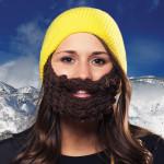 női szakáll sapka