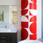 penthouse lakás fürdőszoba