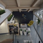penthouse lakás lépcső