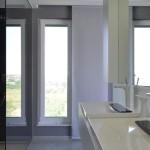 penthouse lakás mosdó és zuhanyzó