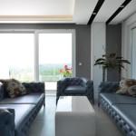 penthouse lakás nappali