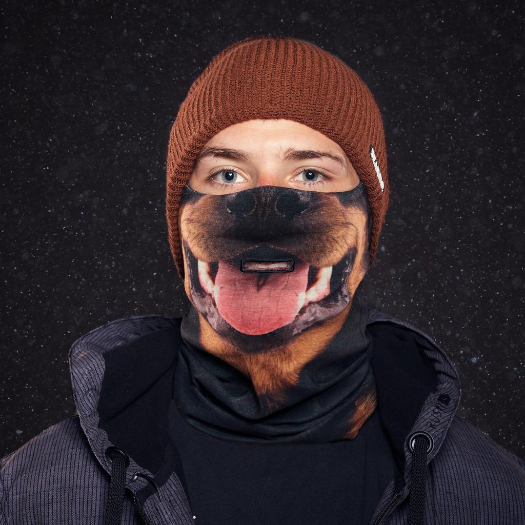 rottweiler kutya arcmaszk