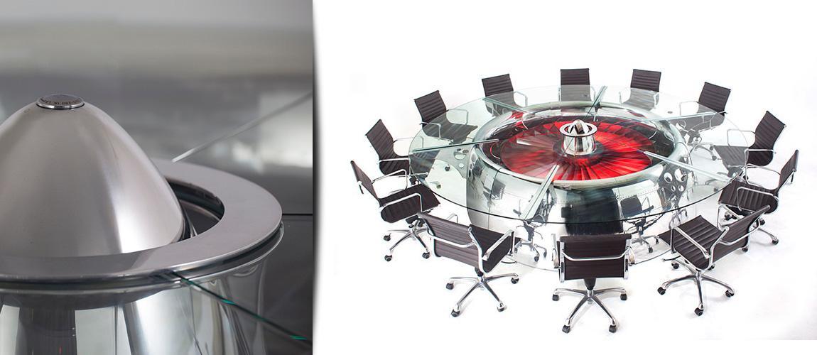 design asztal - konferencia