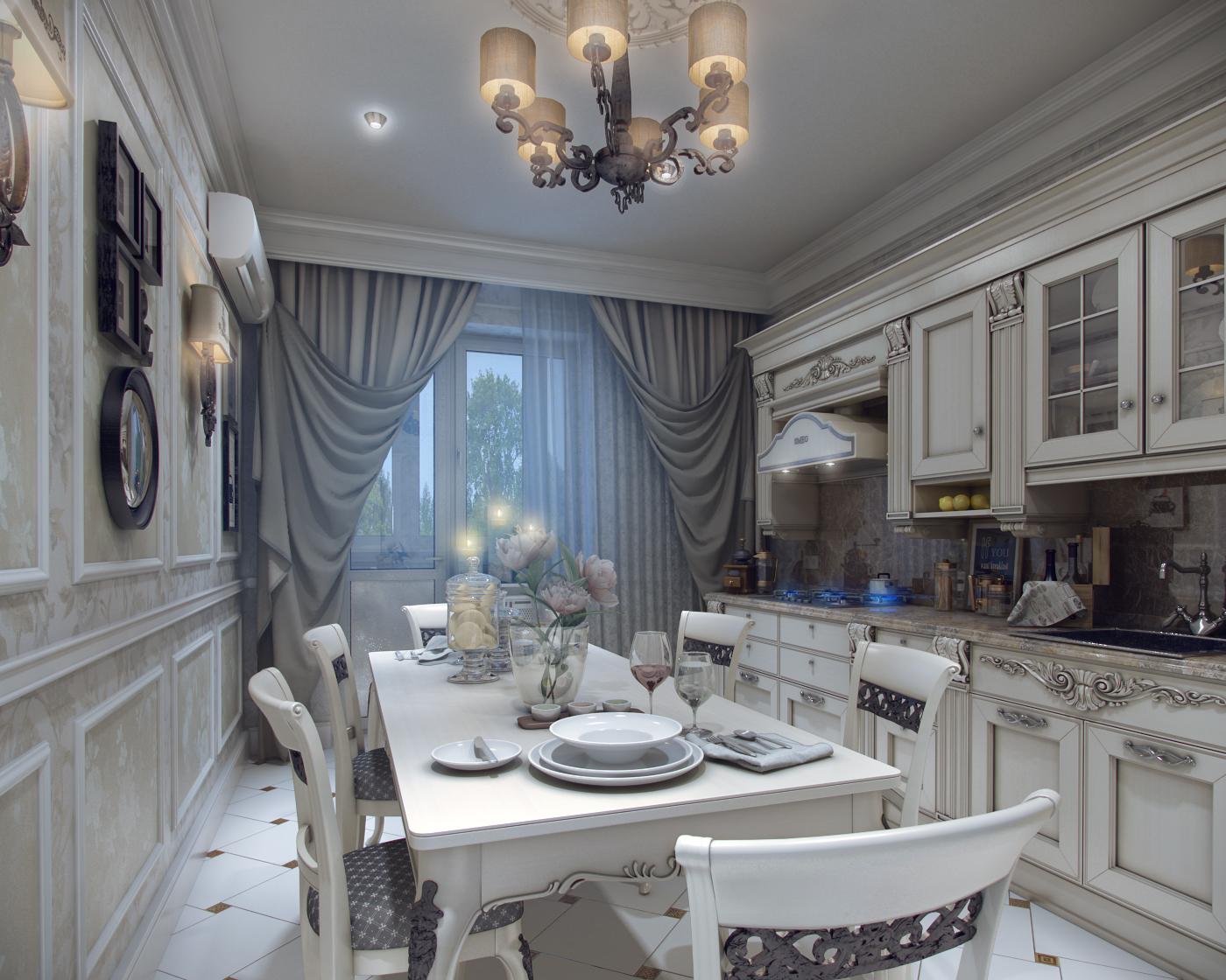 igazi klasszikus konyha étkező