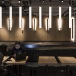 modern étterem - McDonald's világítás