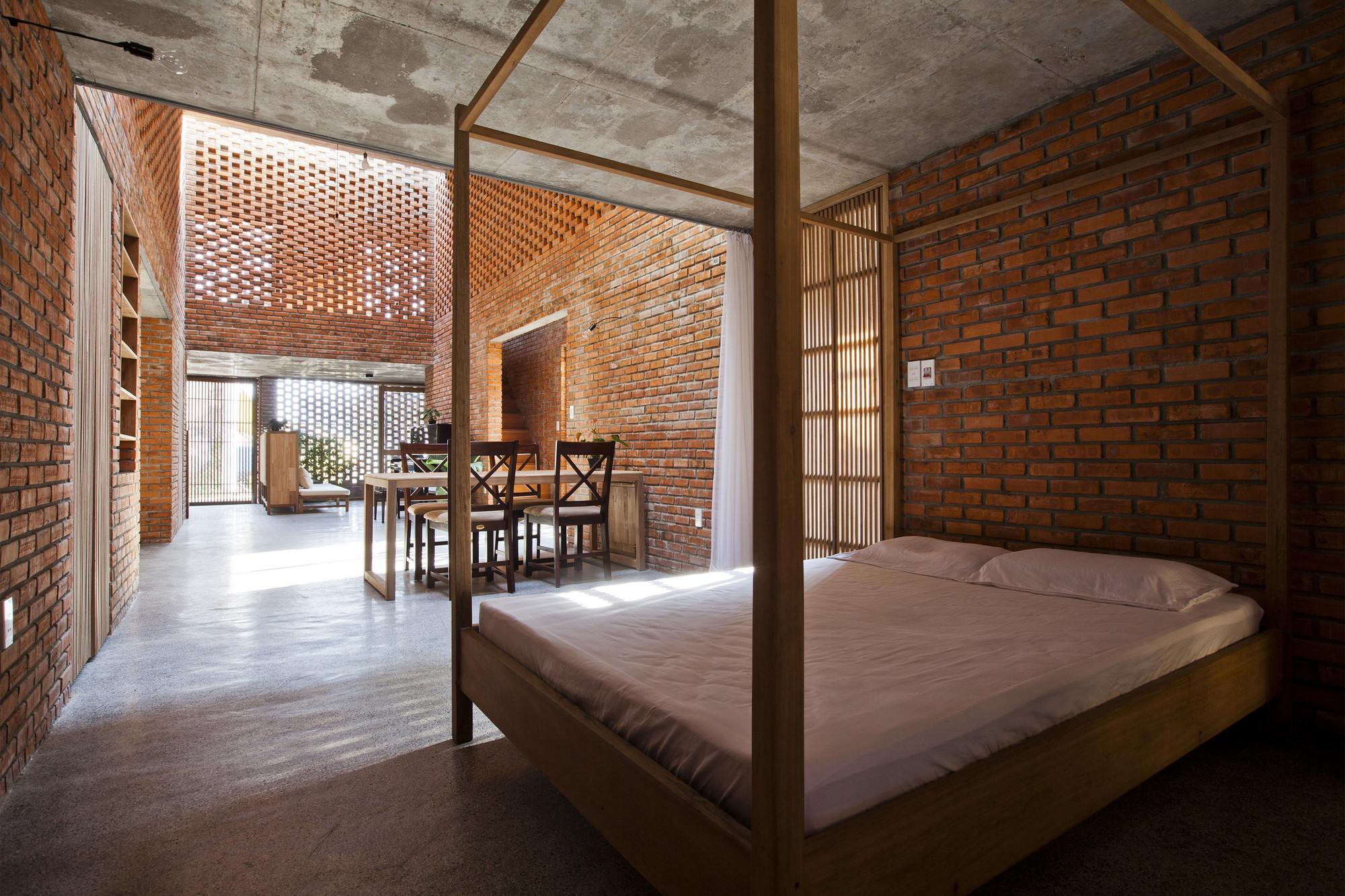 tégla ház nappali