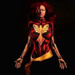 Testfestés és a szuperhősök, hihetetlen alkotások